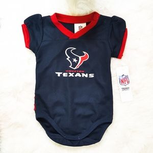 Houston Texans Baby Jersey NWT